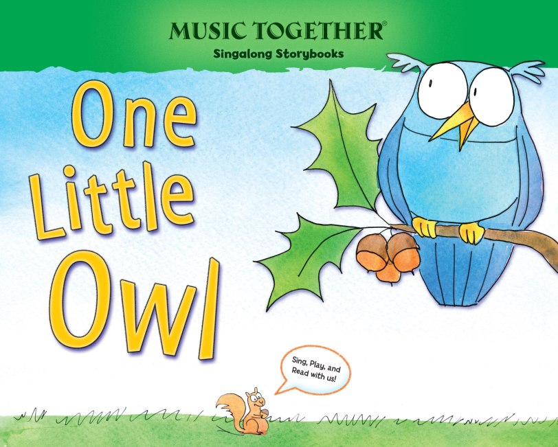One Little Owl book cover art
