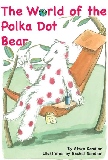 polka dot bear cover