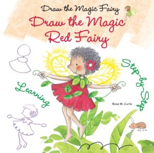 Draw the Magic Red Fairy Cover