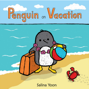 penguin on vacation cover snag email