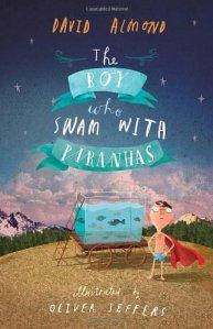 boy swam with piranhas