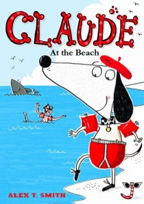 claude at beach