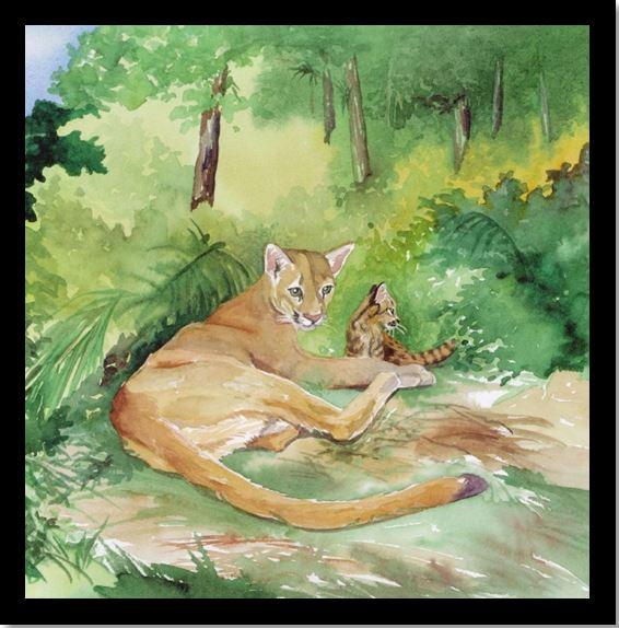 mom and cub