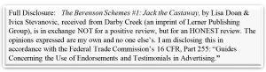 berenson schemes 1 jack the castawy