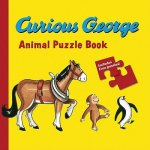 Curious George Animals Puzzle Book