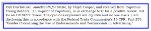FTC - Juneteenth for Mazie by Floyd Cooper – Capstone 2015