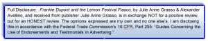 frnkie dupont 2 lemon festival fiasco