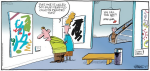 Reality Check----Syndicated Cartoon Strip