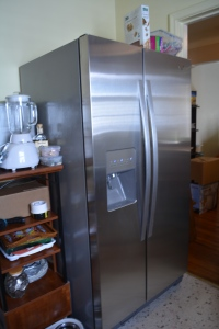 New Refrigerator:  ice maker not hooked-up, but still dispenses ice.