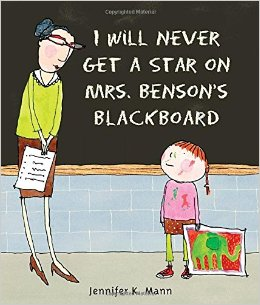 star on mrs bensons blacboard cover