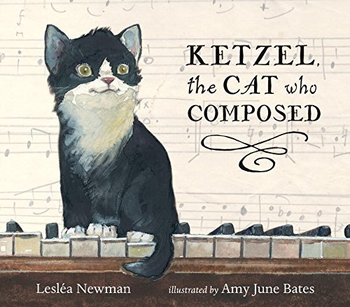 765 Ketzel The Cat Who Composed By Lesla Newman Amy June Bates