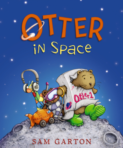 755 otter loves halloween by sam garton kid lit reviews for Jobs in outer space