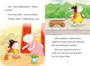 What kind of name is Cuddle? Well, it's the perfect name for a kind, caring, and adorable little bunny! Cuddle Bunny enjoys all of life adventures. From learning to love herself to reading to her friends, Cuddle will melt your heart in this collection of sweet stories.