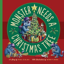 monster need a christmas tree