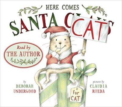 here comes santa cat kindle cver