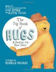 a big book hugs cover