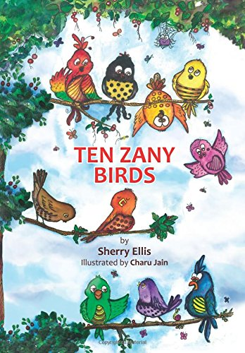 ten zany  birds cover am