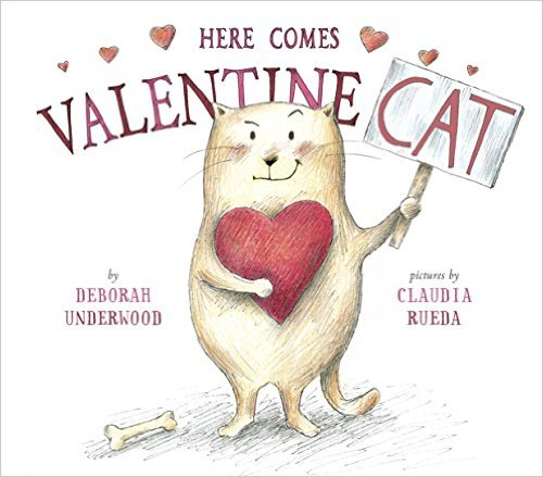 here comes valentine cat cover a