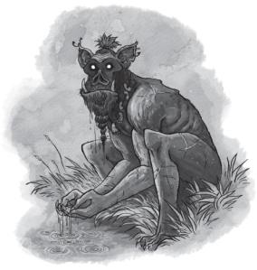 """""""Leatherleaf"""" a Bog Noblin"""