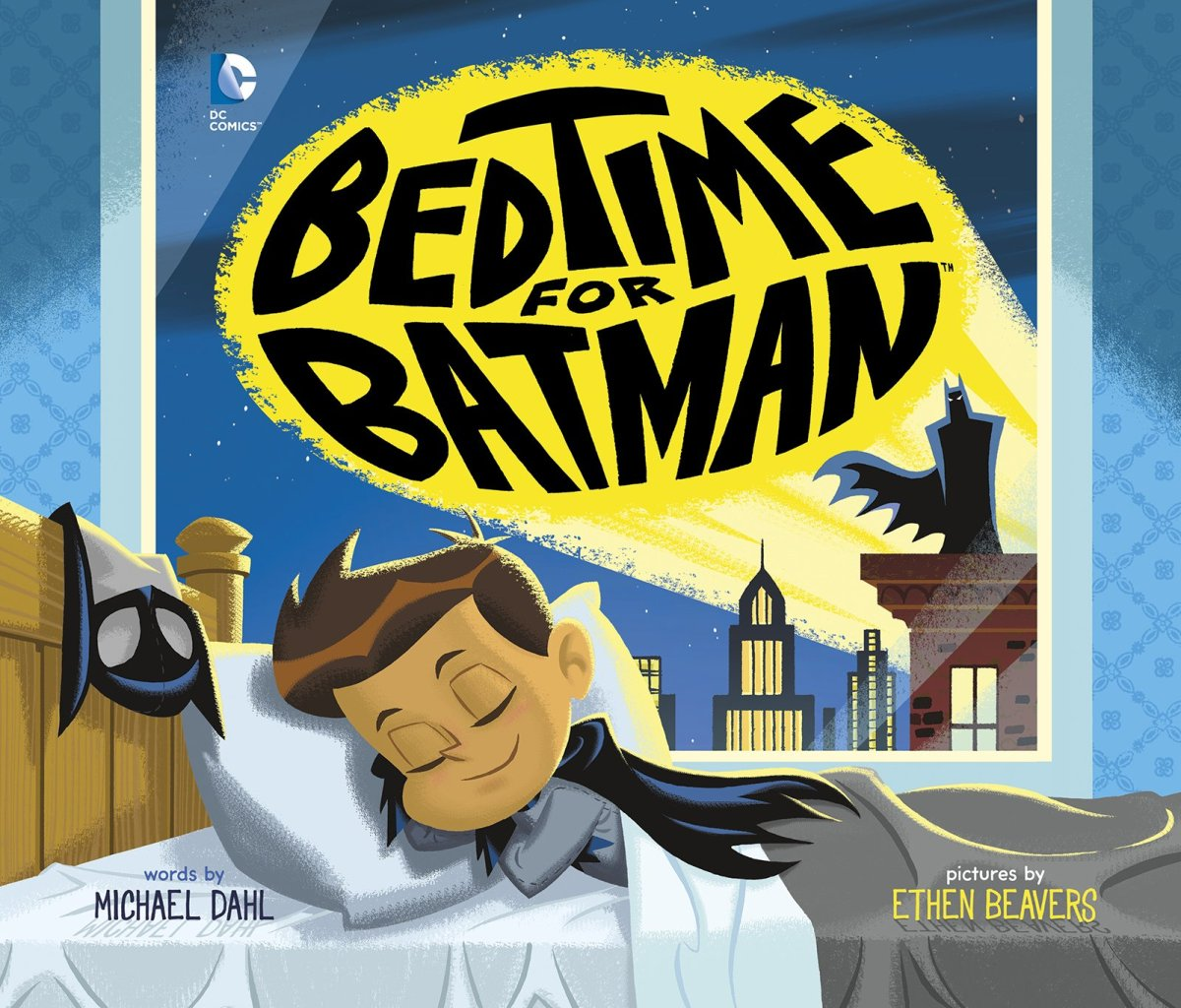 876 bedtime for batman by michael dahl and ethen for Bed stories online
