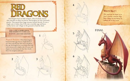 Simple, step-by-step instructions teach readers how to draw dragons, trolls, and several other dangerous fantasy monsters.